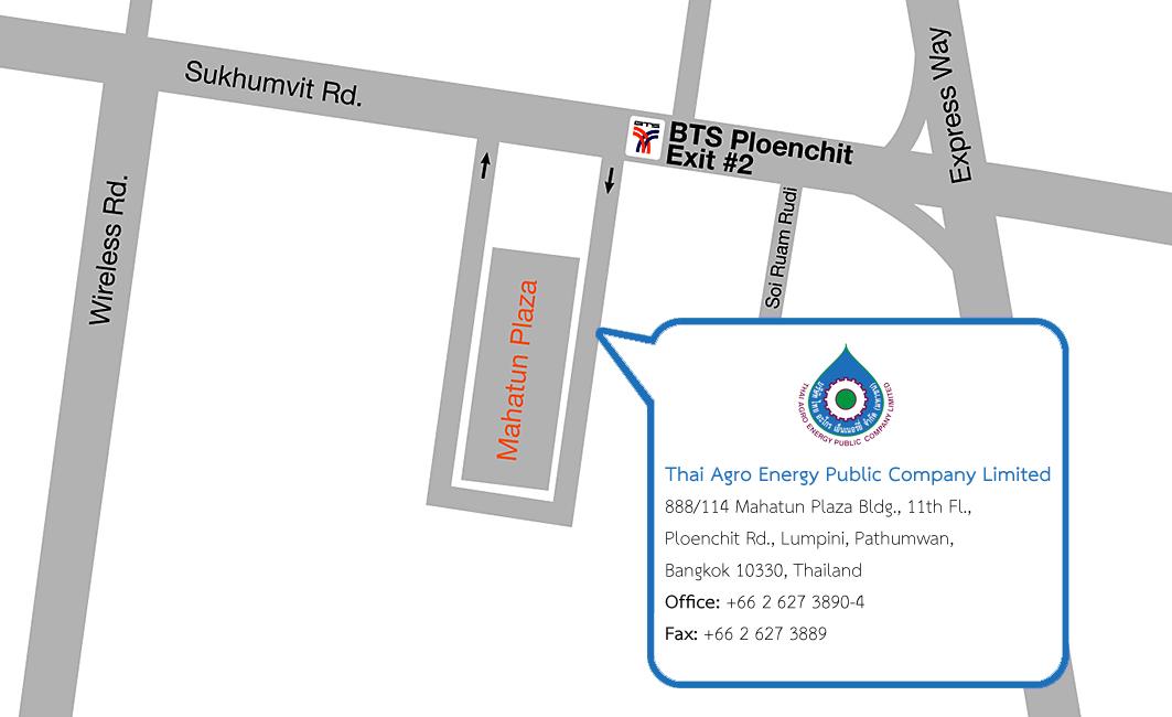 Thai Agro Energy Co., Ltd. › Contactus